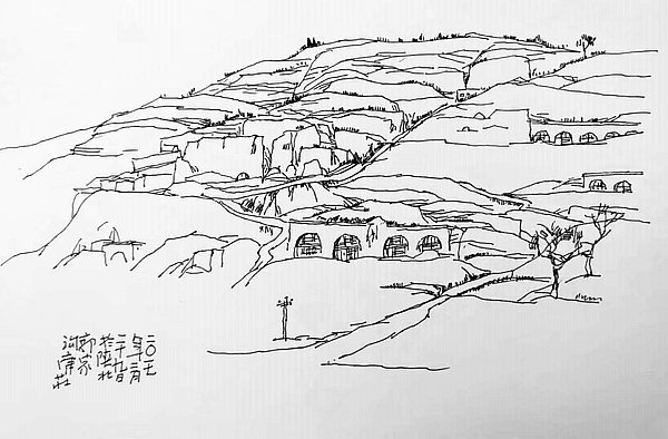 吴堡旅游-郭家沟(太平寺)摄影写生小镇